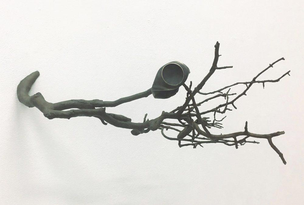 o. T. 2 (2016), Bronze, 58 x 58 x 30 cm