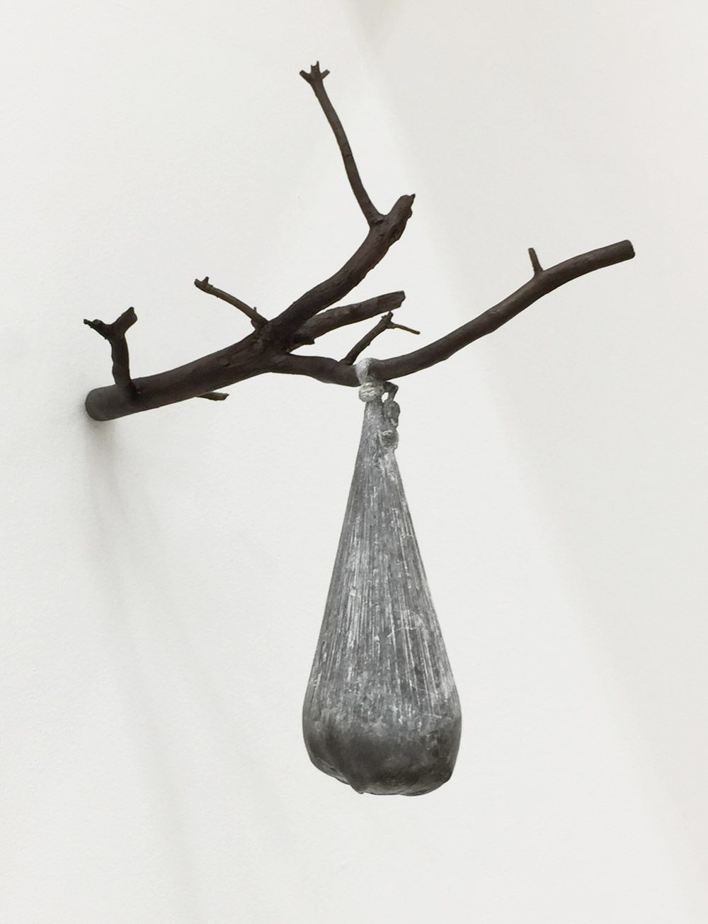 o. T. 3 (2016), Bronze, 55 x 55 x 30 cm