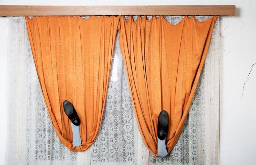 Curtains (Reminiscence of Being a Woman), 2017, photography, 50 x 77 cm, Ed. 5 + 2 AP