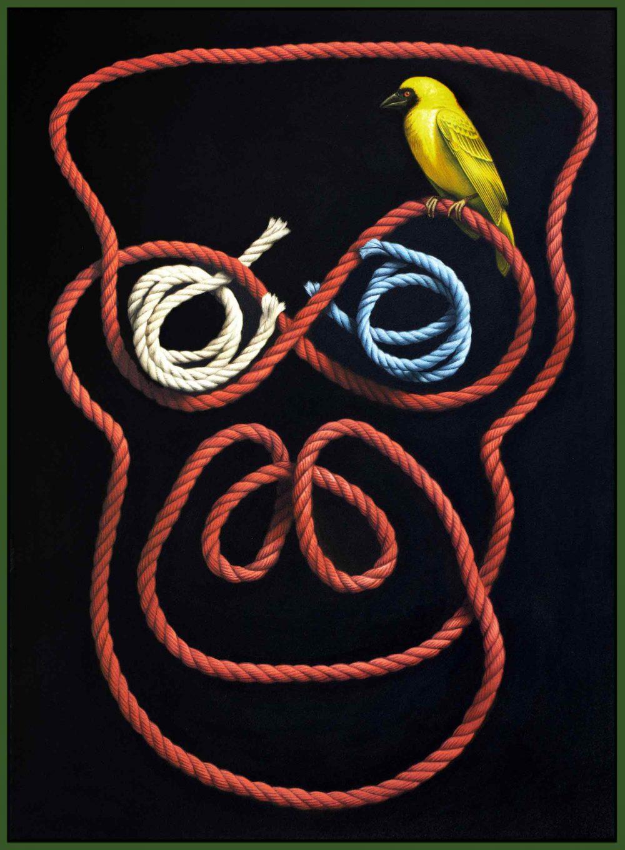 Creator  (2017), Acryl auf Leinwand, 70 x 50 cm