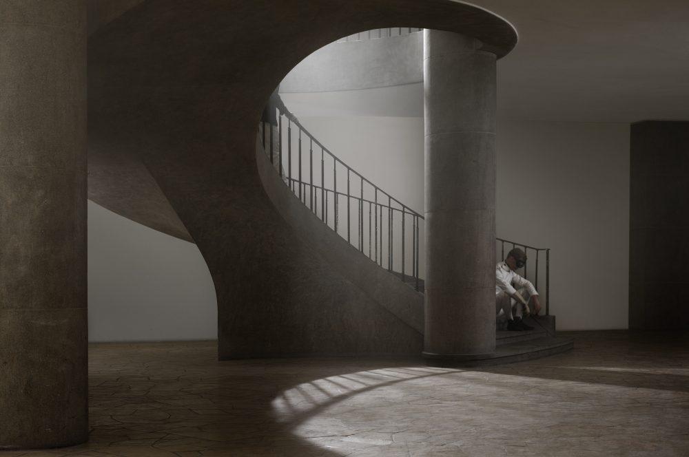 Berlin: Fechthalle, Westend (11. Juli 2012), C-print, 120 x 180 cm, Ed. 10, und 60 x 90 cm, Ed. 10