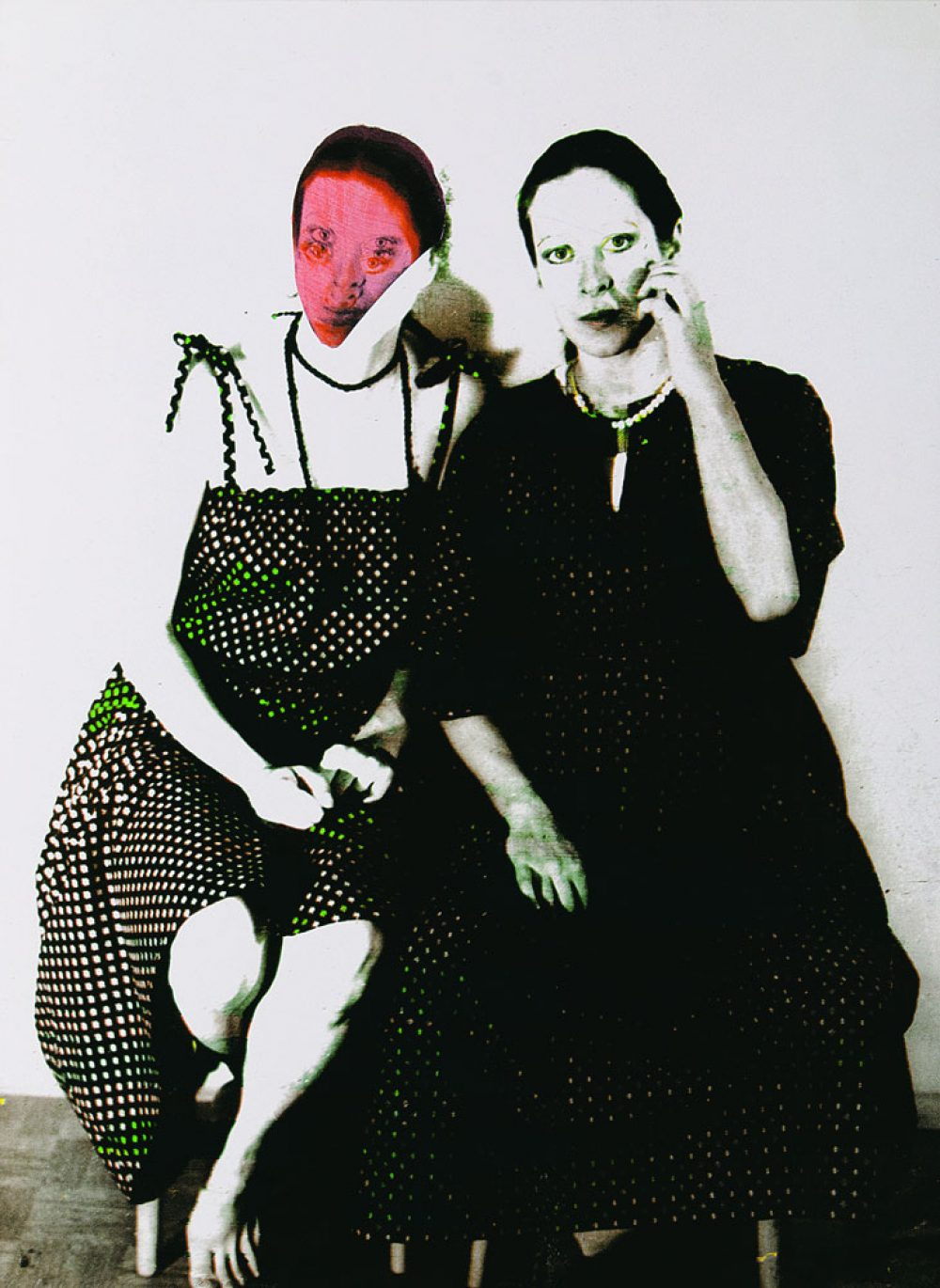 Relative Similarities IVX - Twins by choice (1981), Mixed Media on paper, 104 x 74 cm