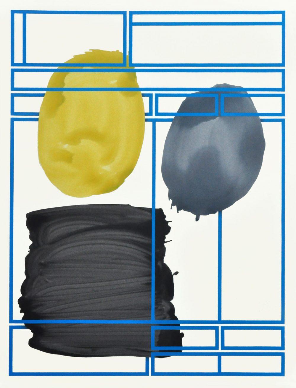 Office#224 (2015), Acryl auf Leinwand, 170 x 130 cm