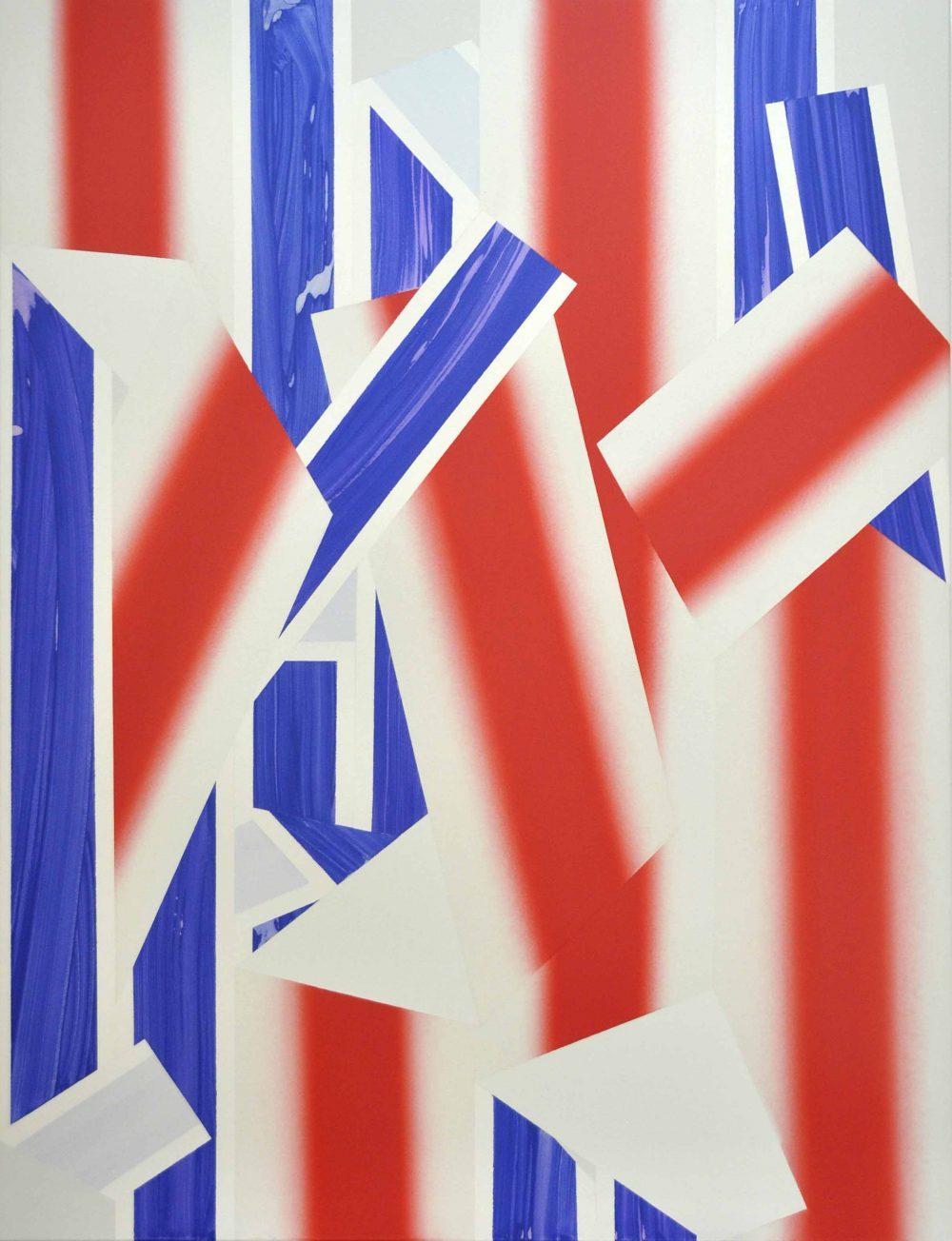 Untitled 221 (2015), Acryl auf Leinwand, 170 x 130 cm