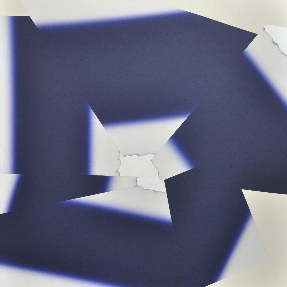 Untitled 207 (2013), Acryl auf Leinwand, 165 x 165 cm