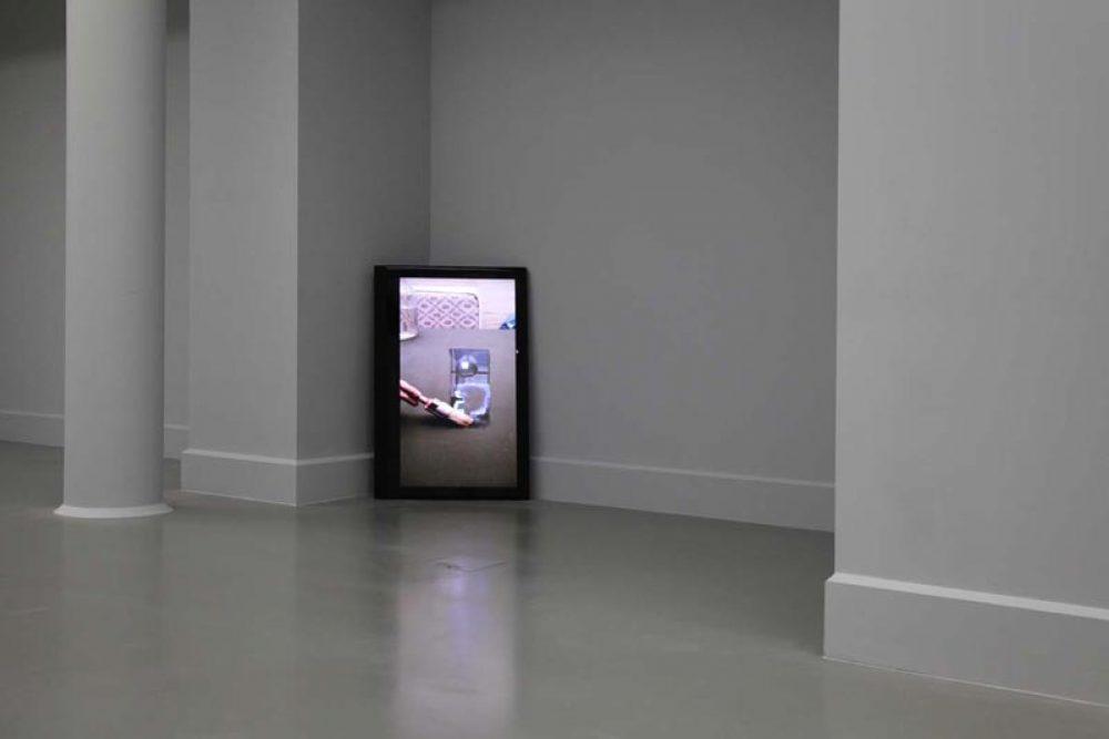 Still Water (2010), Video, 12:43 min., Farbe, ohne Ton, Installationsansicht bei Arter, Istanbul