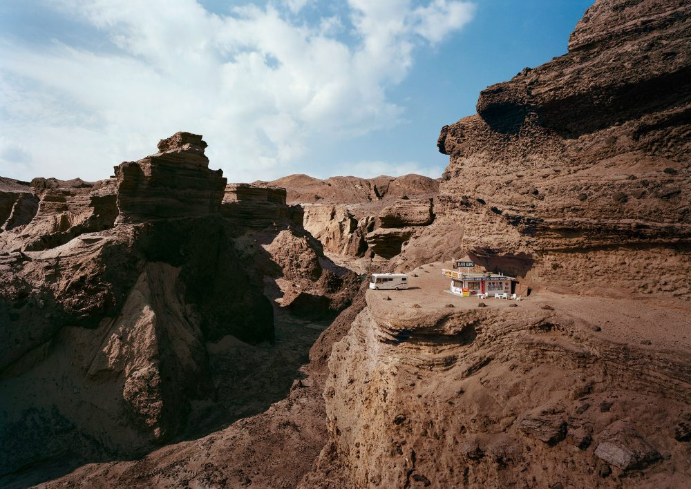 At the Canyon (2007), Lamba Print/Diasec, 170 x 240 cm, Ed. 5 und 95 x 120 cm, Ed. 7